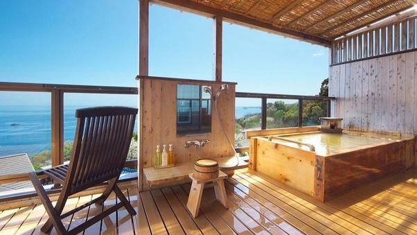 【古民家 あやめ】禁煙 ベッド付12畳和洋室露天風呂付客室