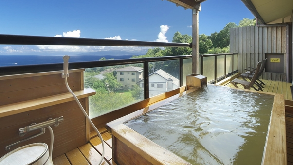 【くつろぎの和室 雲海】2階 15畳和室 露天風呂付客室