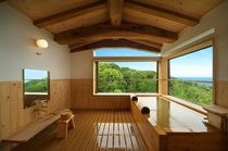 けやき 客室専用露天風呂