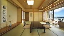 【本館 富士】1階南角 10畳和室 個室露天風呂付
