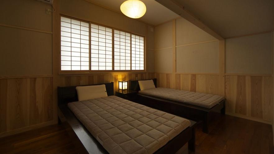 【別邸さくら】ベッドルーム
