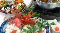海の幸を満喫していただける海鮮鍋など
