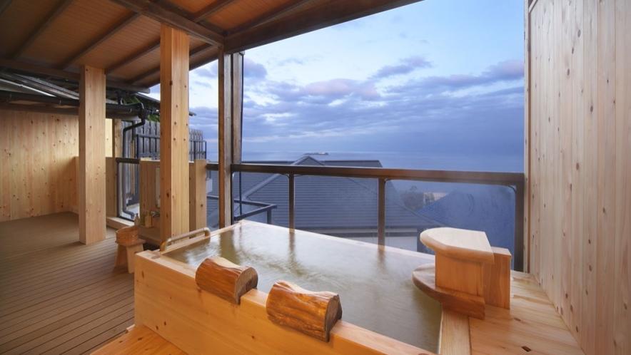 【本館 古民家 あじさい】古き木々の温もりある 個室露天風呂