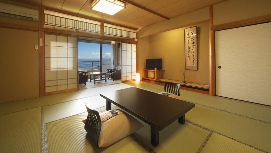 【本館 暁】2階 15畳和室 個室露天風呂付