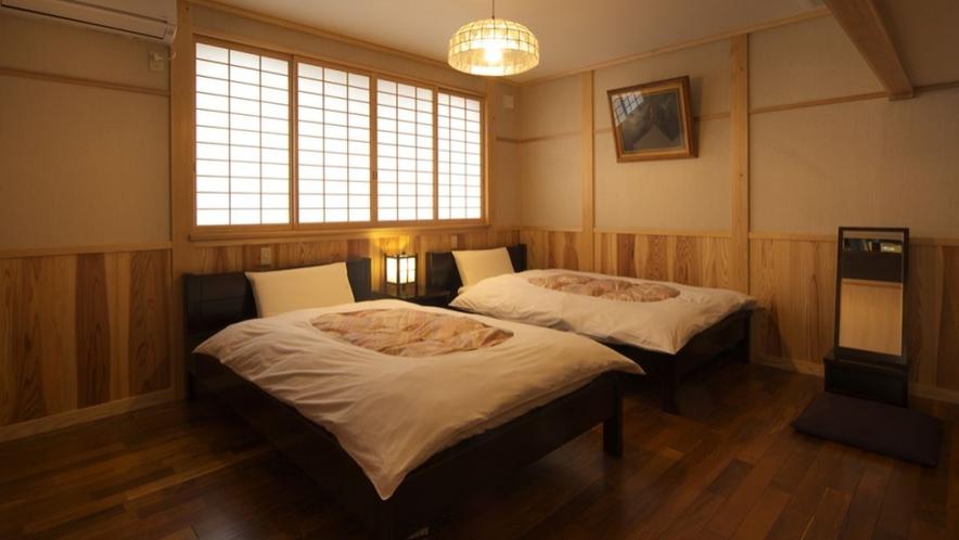 【別邸 けやき】ベッドルーム