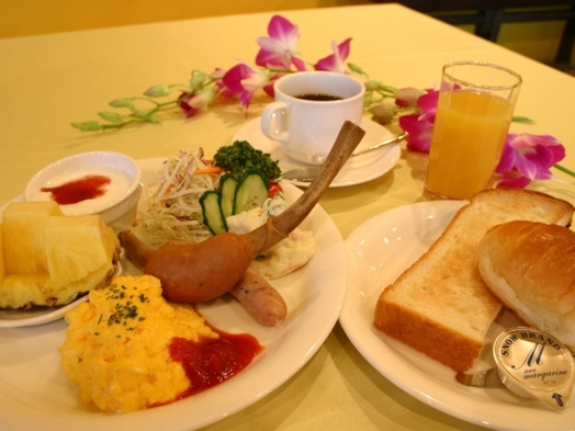 ☆の〜んびりお泊り!でも朝食だけは食べたいな〜ッ♪ (1泊朝食付)  無料貸切風呂は24時間OPEN
