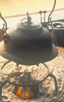 囲炉裏 茶釜