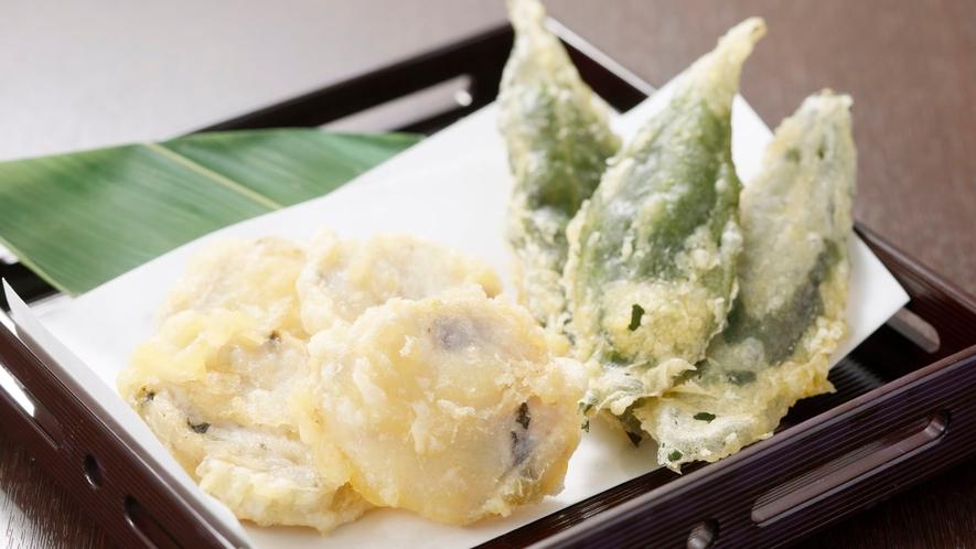 【金澤じわもん料理】加賀野菜の真薯揚げ