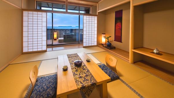 NEW OPEN◆露天風呂付 和室10帖◆日本海絶景【禁煙】