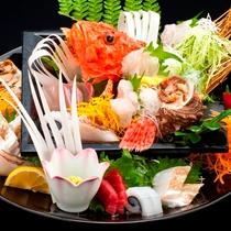 【料理】姿盛り(イメージ) 記念日やお祝いの席に豪華な姿盛りをどうぞ!【5日前まで要予約】