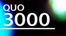 QUO3000付きプラン