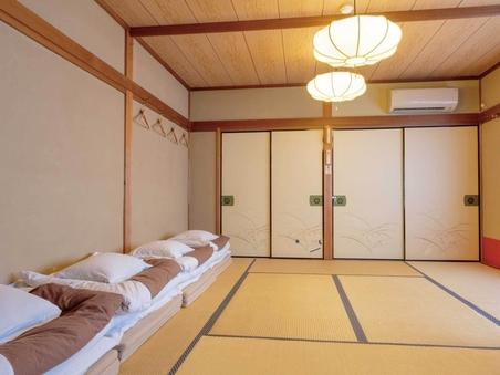 バス・トイレ・洗面付10畳和室 - 庭眺望、WiFi可、禁煙