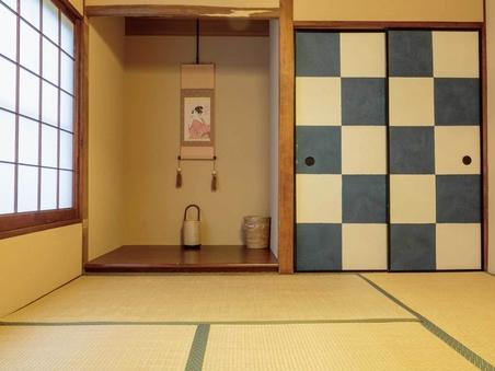 4畳半 和室ダブル - バス・トイレ共用、WiFi接続、禁煙