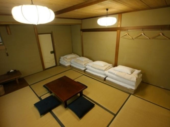 バス・トイレ・洗面付10畳和室