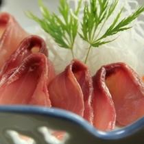食事一例 (刺身)1