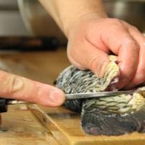 食事一例 (鯉料理)2