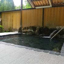 *【女性/露天風呂】大自然の音を感じることができる、開放感いっぱいの露天風呂。