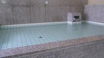*【男性/大浴場】お湯の色は無色透明となっております。