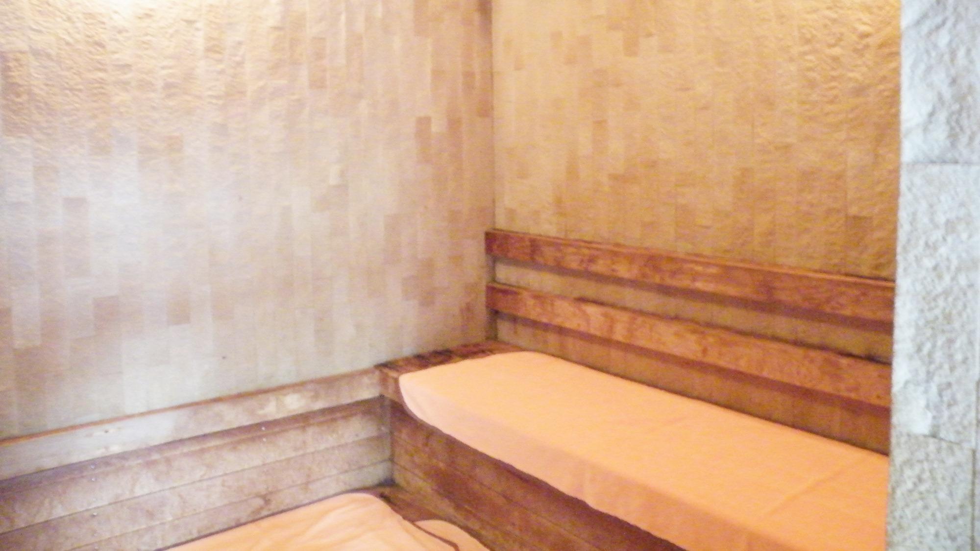 *夕陽温泉WAO大浴場/遠赤外線効果の中温サウナ。レジャーの疲れをさっぱりリフレッシュ。