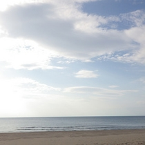 *周辺観光/夏は海水浴で人気の宮沢海岸!当館より徒歩圏内で便利。