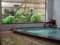 男女別浴場の一例。