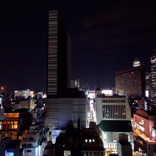 夜景(2)【スーパーホテル新宿歌舞伎町】
