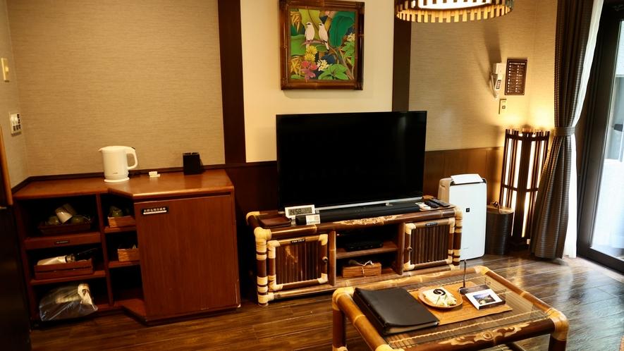 バリ風洋室