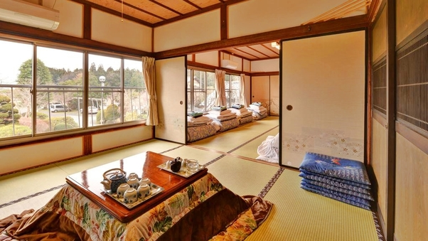 *【Wi-fi利用OK】庭園を眺める和室(大部屋)