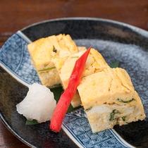 *【夕食一例】卵焼き
