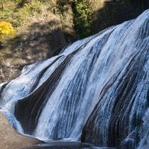 **【袋田の滝】白糸のようになめらかに、時に豪快な表情を見せる滝。文人たちも歌に詠み残しています。