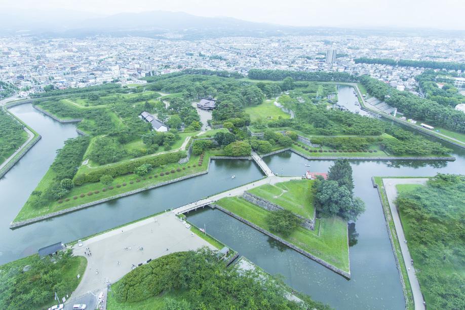 北海道の夏 函館 特別史跡 五稜郭跡