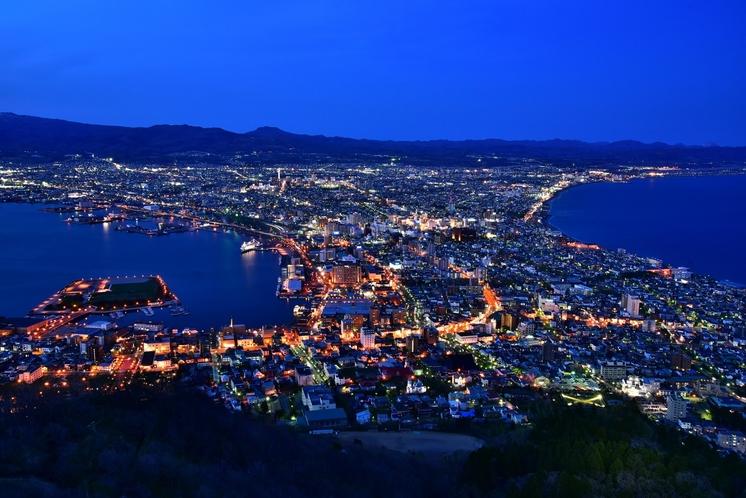 函館山からの函館市内の夜景
