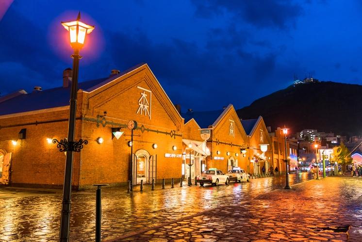 函館の夜景・赤レンガ倉庫