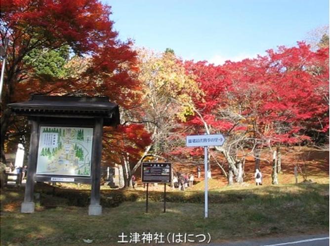晩秋の土津神社