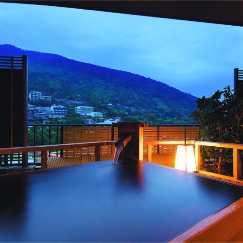 楽天トラベルからご予約で絶景 貸切風呂が45分無料です。