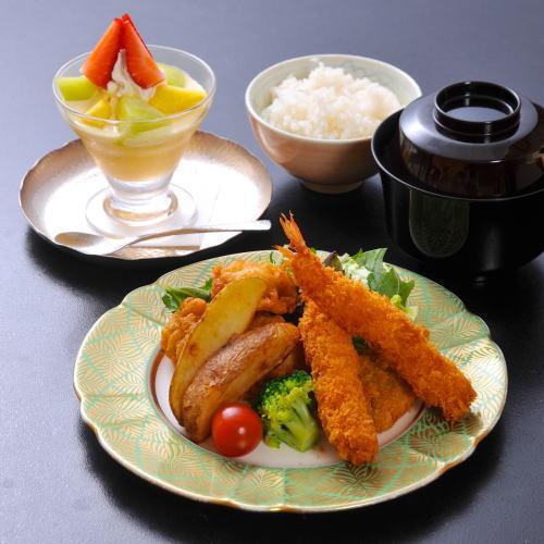 <別注>お子様ミックスフライ定食