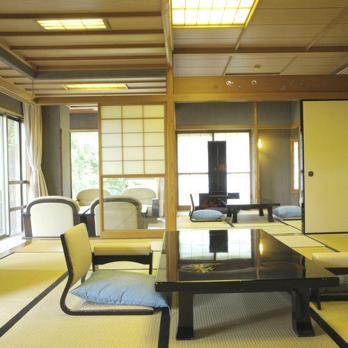 特別室【川堰苑】梢風/観月〜和の粋をしつらえた貴賓室