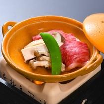 【焼物】陶板焼 国産牛ランプ