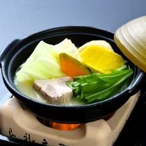 【鍋物】和風ポトフ 三ケ日豚ロース 南京 水菜など