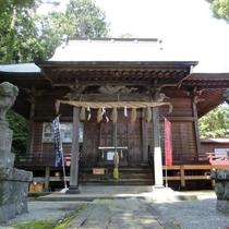 湯河原 素鷲神社(鹿島踊りは神奈川県指定無形文化財・国選択無形文化財)
