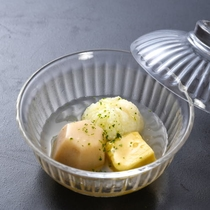 【冷やし鉢】加賀太饅頭 小芋 栗麩