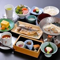 「お客様の朝の元気に。」気持ちのこもった朝食膳をお召し上がりください。