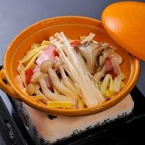 【焼き物】陶板焼き 三ケ日豚ロース きのこ 玉葱 チーズ トマト