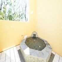 別館8号室 露天風呂