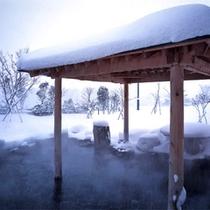 露天風呂(冬景色)