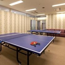 卓球場スペース