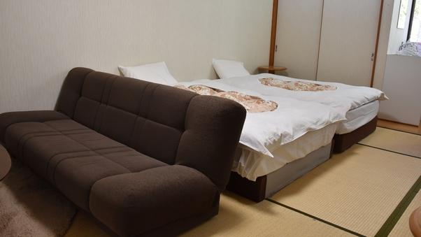 *【基本ルーム/ベッド】和室11畳+ロフト8畳/1〜3名定員