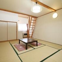 *客室一例/和室11畳+ロフト8畳付でゆったり広々♪
