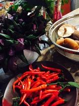 アントシアニンが豊富な沖縄の健康野菜、ハンダマ