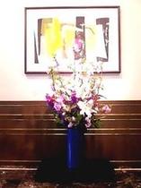 ロビー生花